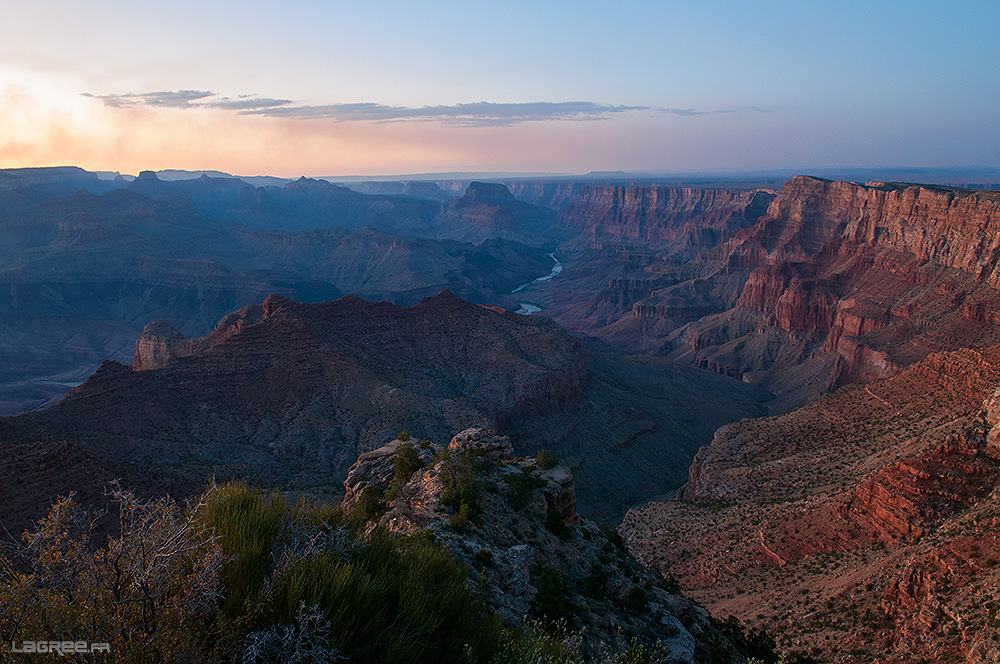 Grand Canyon Desert view