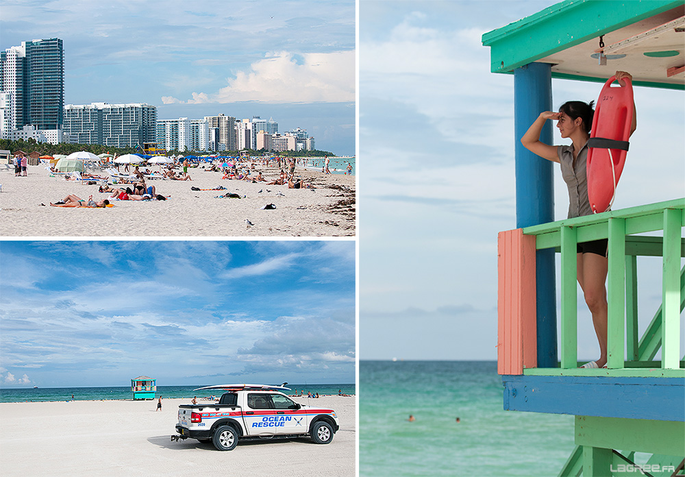 South Beach et les Miami Beach Ocean Rescue