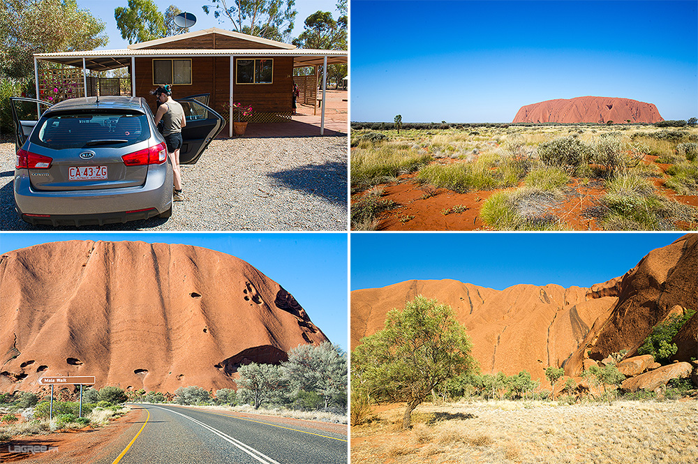 Ayers Rock Campground cabin